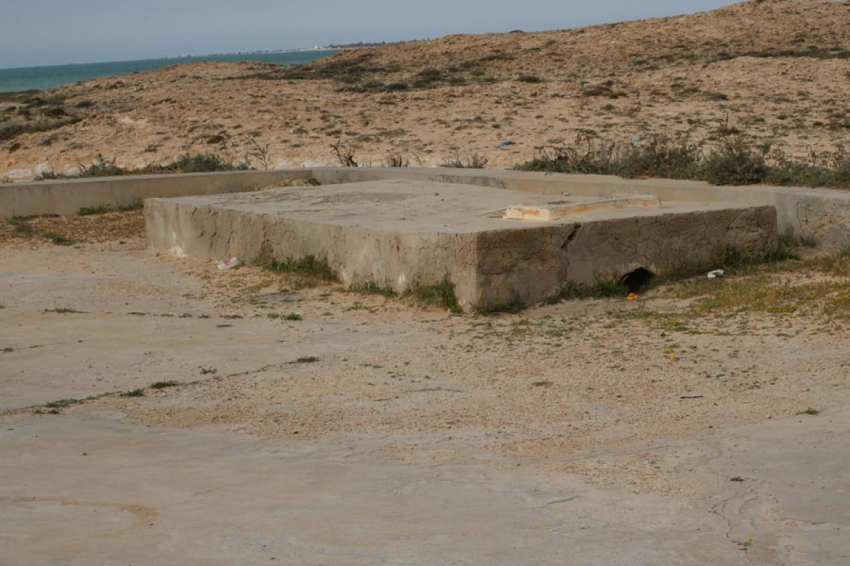 Citerne de plage chikh yahia