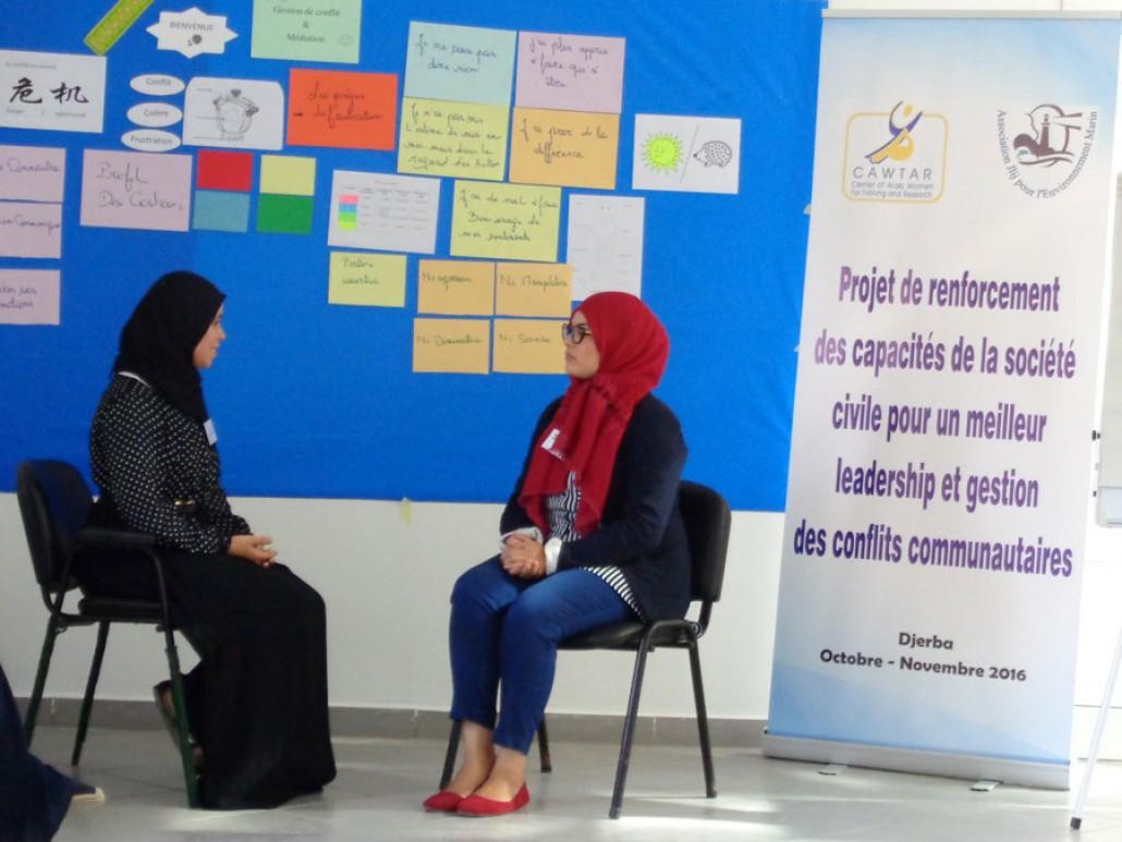 Projets de renforcement des capacités de la  société civile pour un meilleur leadership et gestion des conflits communautaires